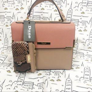 🆕 DUNE LONDON Satchel Handbag Tote Crossbody